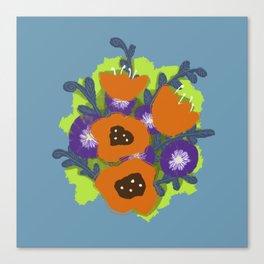 Bouquet #2 Canvas Print