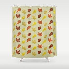 Fall. Shower Curtain