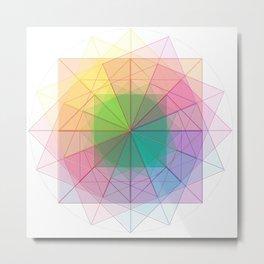 geometric abstract 1 Metal Print
