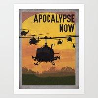 apocalypse now Art Prints featuring Apocalypse Now by Brian Wilcox