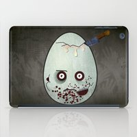 zombies iPad Cases featuring Zombies by Marcos Lozano