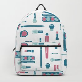 Cosmetic Items Repeating Pattern Backpack