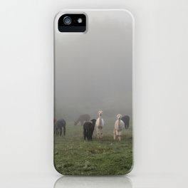 Grazing Girls iPhone Case