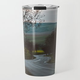 Along a rural road - Landscape and Nature Photography Travel Mug