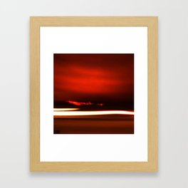 Overreal  - Now is the Time.  Album Cover Framed Art Print