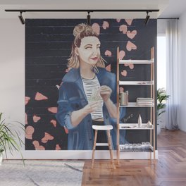 Influencers Illustrated: Zoella Wall Mural