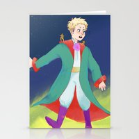 le petit prince Stationery Cards featuring Le Petit Prince by parkers