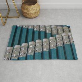 Pencil Line Up Rug