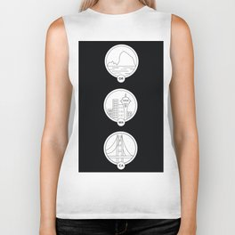 Cities to Love Biker Tank