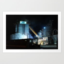 Industrial Zone Art Print