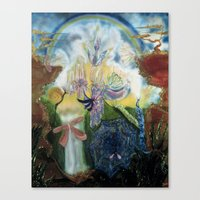neverland Canvas Prints featuring Neverland    by ione citrin