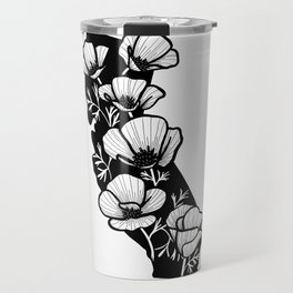 California Poppies Travel Mug