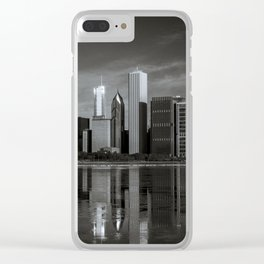 Chicago Winter Clear iPhone Case