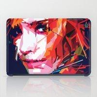 emma watson iPad Cases featuring Emma Watson Vector by Raditya Giga
