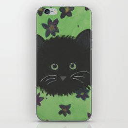 Paws amongst the flowers iPhone Skin