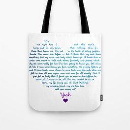 Klaine Proposal Tote Bag