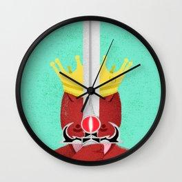 Brazil - Em terra de cego quem tem olho é rei Wall Clock