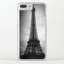 Eiffle Tower Clear iPhone Case