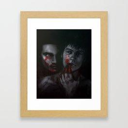 Till they howl no more Framed Art Print