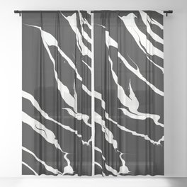 Electric Pulse Sheer Curtain