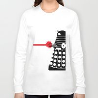 mad men Long Sleeve T-shirts featuring Dalek, Mad Men Style by Mosobot64