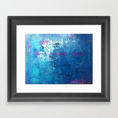 WITH THE TIDES Framed Art Print