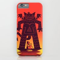 Pizza Demon iPhone 6s Slim Case