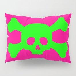Toxic Skull Pillow Sham