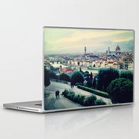 florence Laptop & iPad Skins featuring Florence by Rachel Weissman