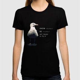 Seagull - Philosophy of LIFE T-shirt