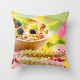#Food #photography and #spring #colors Throw Pillow