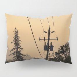 Yellow Mountain Haze Pillow Sham