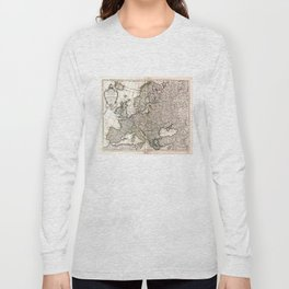 Carte d'Europe (Map of Europe) 1769 Long Sleeve T-shirt