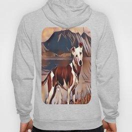 Hunting Dog by the Lake Hoody