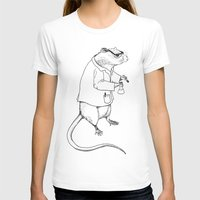 lab T-shirts featuring Lab Rat by Dylana R. Pinter