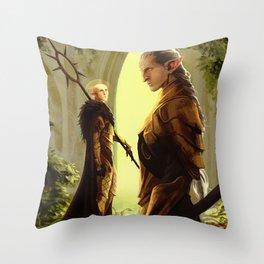 Fen'harel ma ghilana Throw Pillow