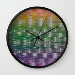 Blended Ways Wall Clock