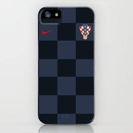 Croatia Away Jersey 2018 iPhone Case
