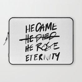 #JESUS2019 - Came Died Rose Eternity 3 Laptop Sleeve