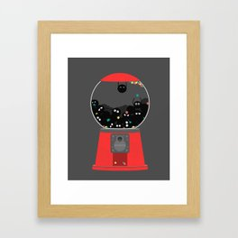 Sootball Machine Framed Art Print