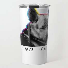 please do not touch! Travel Mug