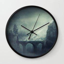 dark realm Wall Clock