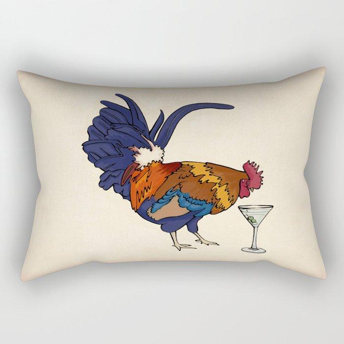 Cocktails Rectangular Pillow