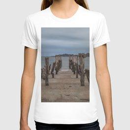 West beach a low tide T-shirt