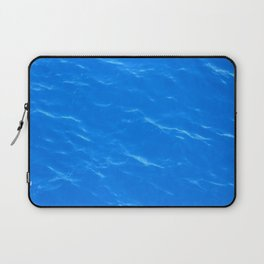 Colors of the Sea Water - Sky Blue Laptop Sleeve
