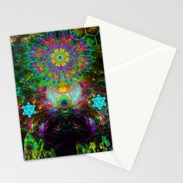 Meditating Yoda Stationery Cards