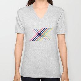 OverlaXes Strips Unisex V-Neck