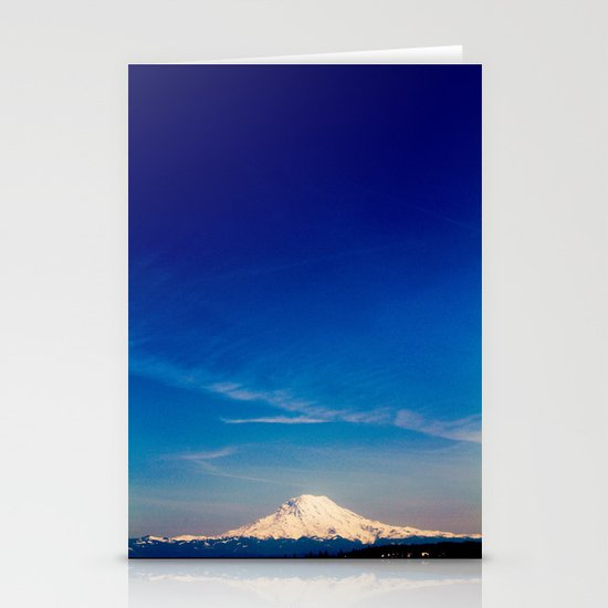 Mt. Rainier . ii Stationery Cards