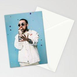 Mac Miller Rapper Hip Hop Music Singer Stationery Cards