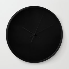 Abstract Painting No. 5 - Ad Reinhardt Wall Clock
